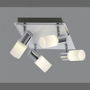 Deckenlampe Mit Led : led deckenlampe mit zylindrischen strahlern ~ Whattoseeinmadrid.com Haus und Dekorationen