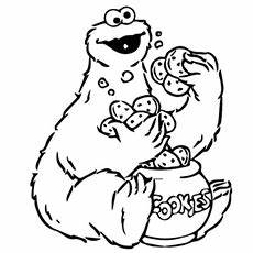 Cute Monster Coloring Pages - Bestofcoloring.com