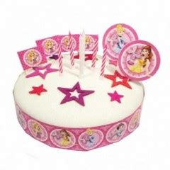decoration gateau anniversaire princesse