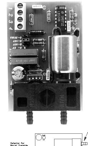 Electronic In to Pneumatic Out signal Transducers
