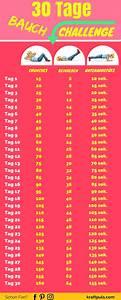 30 Tage Fitness : 30 tage bauch challenge ohne ger te mit plan zum flachen bauch ~ Frokenaadalensverden.com Haus und Dekorationen