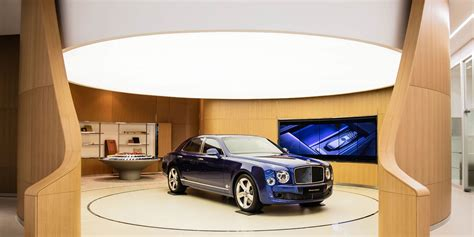 bentley showroom bentley has opened its largest showroom and guess where