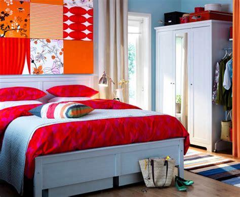 2010 Bright Contemporary Bedroom Decorating Ideas Ikea
