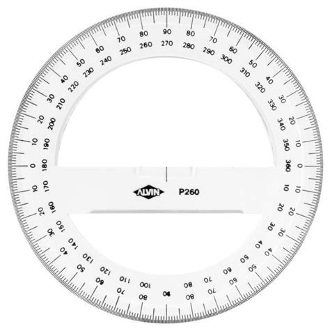 circular protractor   circle template coloring