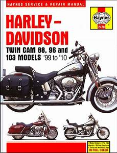 Harley 96  103 Repair Manual 1999