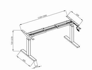 Manual Height Adjustable Desks  2
