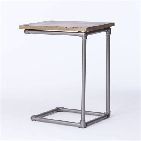 west elm side table pipe side table west elm au