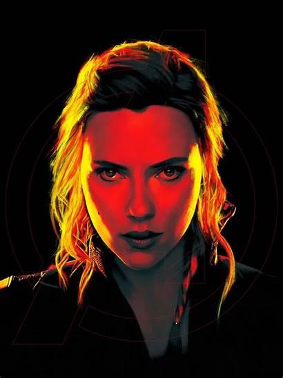 Widow Scarlett Johansson 2021 Portrait Promos Posterspy