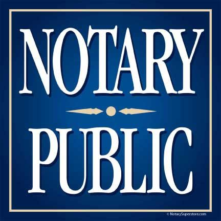 Notary Images Accessories Notary Square Sticker