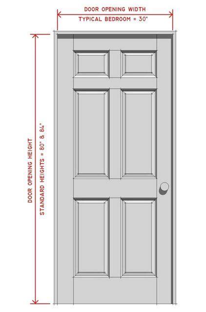 standard front door width interior doors interior doors standard sizes