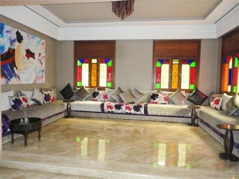 De Cuisine Marocaine Moderne - salon marocain moderne couleurs harmonieux salon