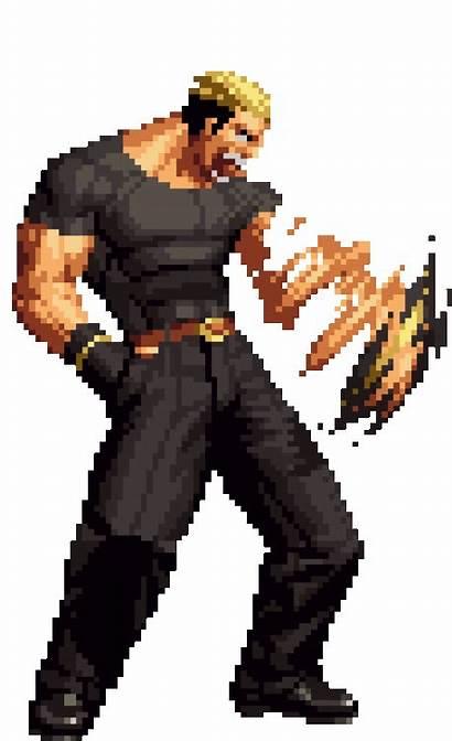 Kof Pixel Sprites Yamazaki Ryuji Snk King