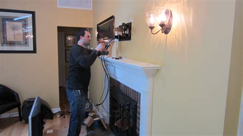 installing walls interior cool wall lighting design with mounting tv above fireplace also fireplace mantel and