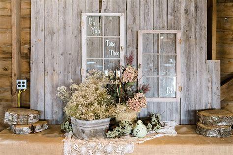 backyard wedding inspiration rustic romantic country