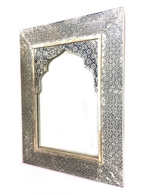 Bedroom Mirrors India by Indian Mirror White Wash Tasnim Hxw 61x46cm Home Is