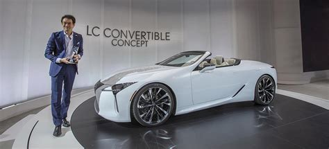lexus presents  convertible concept
