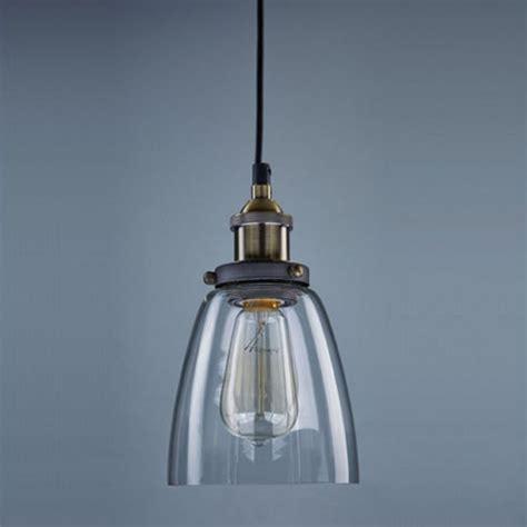 edison light bulb retro pendant l vintage chandelier glass shade