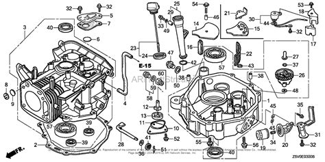 Honda Engines Gxvut Dfwt Engine Tha Vin Gjadt