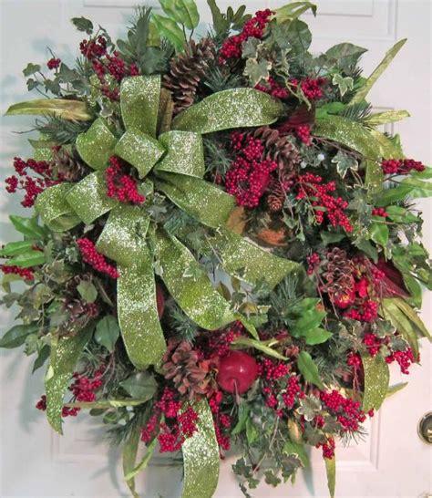 extra large christmas door wreath christmas pinterest