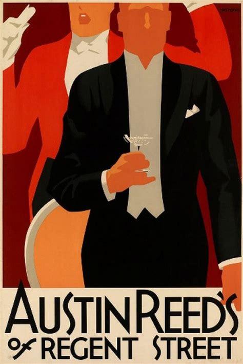 advertising poster  austin reed artwork  tom
