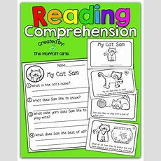 Reading Comprehension Packet! Little Booklets With Simple Stories And Comprehension Sheets