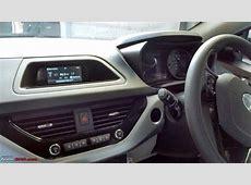 Tata Nexon XM centre console spy shot