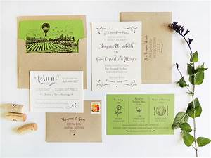 Brynne guy39s modern vineyard wedding invitations for Modern winery wedding invitations