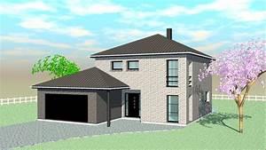 construire sa grande maison moderne With maison a construire moderne