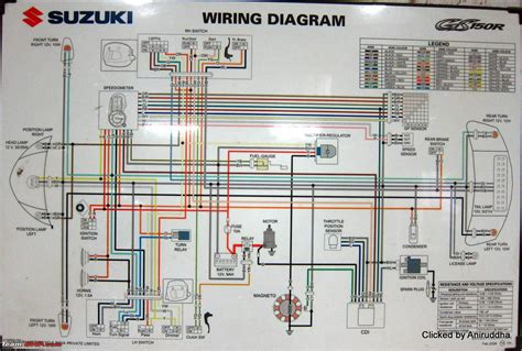 Motorcycle Scooter Wiring Diagram by Circuit Diagrams Of Indian Motorcycles And Scooters Team Bhp