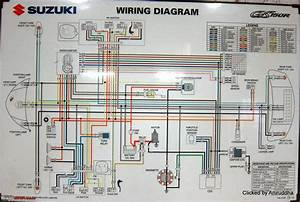 Wiring Diagram Suzuki Thunder 125