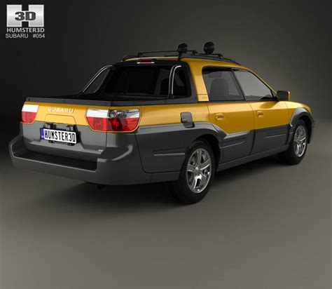 subaru baja subaru baja 2002 3d model humster3d