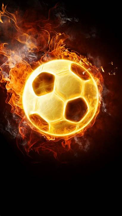 Football Flaming Android Wallpapers Phone Cool Iphone