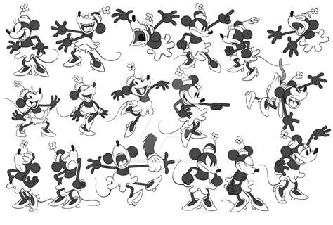 Vintage Minnie Sketches by Kartoon-Kompany on DeviantArt
