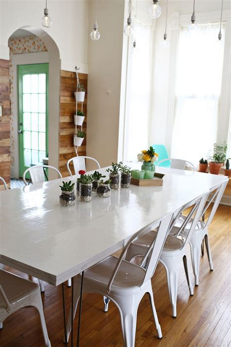 tips for painting a dining room table a mess