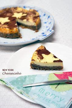 york cheesecake auf spekulatius lebensmittel essen