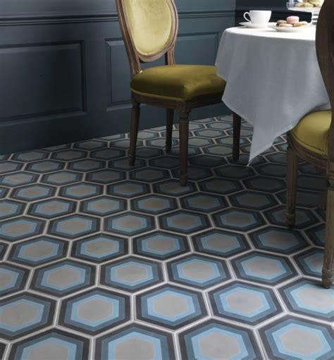Patisserie Hexagon Handmade Encaustic Tile   Foras