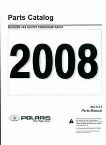 2008 Polaris Ranger 4x4 500 Efi Parts Manual