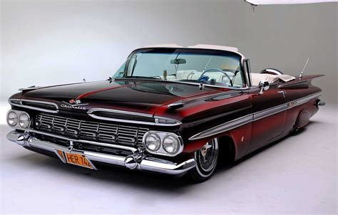 Chevy Impala Wallpaper Iphone by Wallpaper Chevrolet Lowrider Impala 1959 Images For