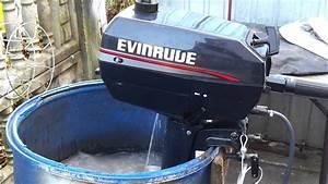 1998 Evinrude 4 Hp Outboard Motor 2 Stroke  Dwusuw