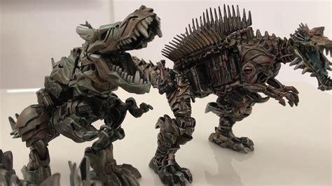 Transformers Aoe Custom Dinobots Grimlock Slug Tlk Scorn