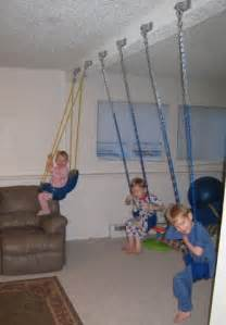 Indoor Swing Set Idea