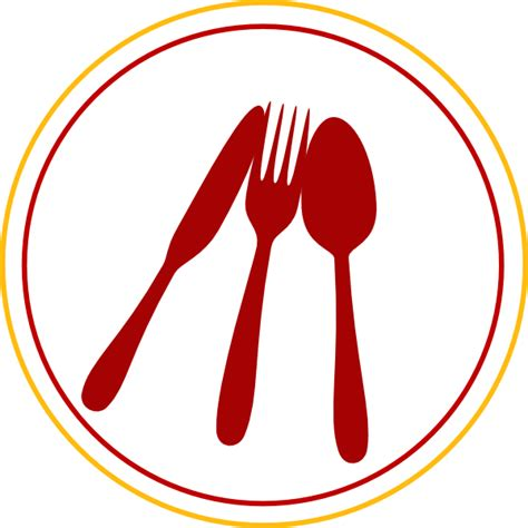 cooking utensils clipart food utensils icon clip at clker vector clip