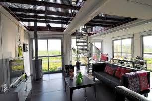 interior design shipping container homes a two house made of eight shipping containers with a modern interior design