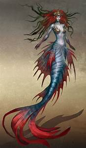 She Creature Mermaid | Artwork of the Heroes VI mermaid ...