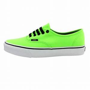 Vans Authentic Skate Shoe Lime Green from Journeys