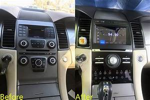 Aftermarket Navigation Head Unit For Ford Taurus 2013