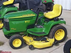 Tractordata Com John Deere Gt245 Tractor Photos Information