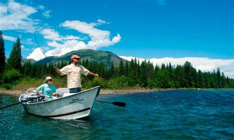 Fishing Boat Rentals Kalispell by Flathead River Montana Fly Fishing Cing Boating