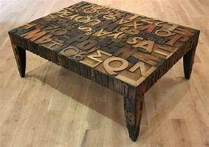 Table Basse Loft : la table basse industrielle pour relooker vos chambres ~ Teatrodelosmanantiales.com Idées de Décoration