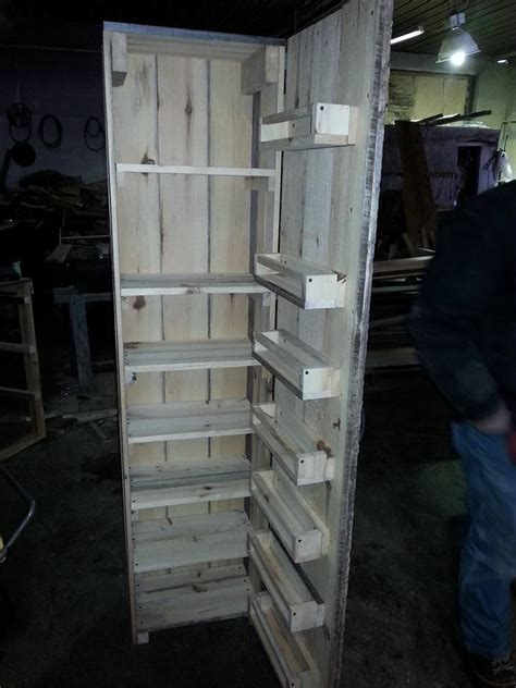 diy kitchen pantry cabinet plans 1000 ideas about pallet cabinet on pallets 8767